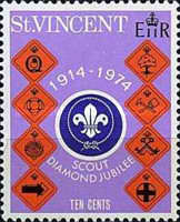 [The 60th Anniversary of Scout Movement in St. Vincent, type FW]