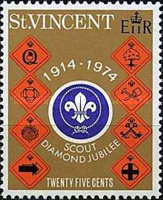 [The 60th Anniversary of Scout Movement in St. Vincent, type FW1]