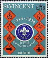 [The 60th Anniversary of Scout Movement in St. Vincent, type FW3]