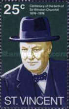 [The 100th Anniversary of the Birth of Winston Spencer Churchill, 1874-1965, type GA]