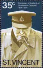 [The 100th Anniversary of the Birth of Winston Spencer Churchill, 1874-1965, type GB]