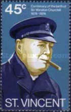 [The 100th Anniversary of the Birth of Winston Spencer Churchill, 1874-1965, type GC]