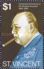 [The 100th Anniversary of the Birth of Winston Spencer Churchill, 1874-1965, type GD]