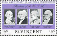 [The 200th Anniversary of Independence of the United States of America - Presidents of the United States, type HQ]