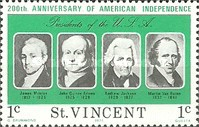 [The 200th Anniversary of Independence of the United States of America - Presidents of the United States, type HR]