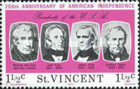 [The 200th Anniversary of Independence of the United States of America - Presidents of the United States, type HS]