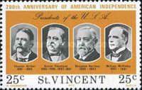 [The 200th Anniversary of Independence of the United States of America - Presidents of the United States, type HV]