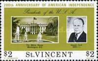 [The 200th Anniversary of Independence of the United States of America - Presidents of the United States, type HZ]