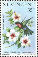 [Hummingbirds and Hibiscus Flowers, type IM]