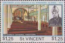 [The 100th Anniversary of Anglican Diocese of the Windward Islands, type JR]