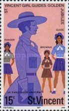 [The 50th Anniversary of Girl Guides in St. Vincent, type JT]