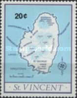 [Map of St. Vincent, type JW]