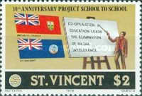 [The 10th Anniversary of Student Exchange between St. Vincent and Canada, Typ KQ]