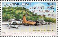 [Opening of St. Vincent and the Grenadines Air Service, type KR1]