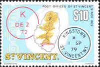 [St. Vincent Post Offices, type LU]