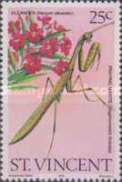 [Oleander Flowers and Insects, type MJ]