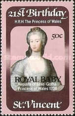 [Birth of Prince William of Wales, type OF1]