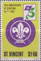 [The 75th Anniversary of Boy Scout Movement, type OM]