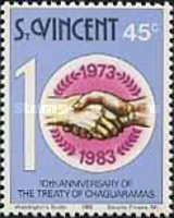 [The 10th Anniversary of Treaty of Chaguaramas, type PE]
