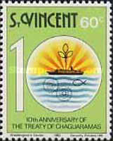 [The 10th Anniversary of Treaty of Chaguaramas, type PF]