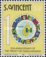 [The 10th Anniversary of Treaty of Chaguaramas, type PH]