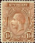 [King George V, Coat of Arms - New Watermark, type Q17]
