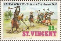 [The 150th Anniversary of Emancipation of Slaves, type SO]