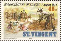 [The 150th Anniversary of Emancipation of Slaves, type SP]