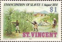 [The 150th Anniversary of Emancipation of Slaves, type SQ]
