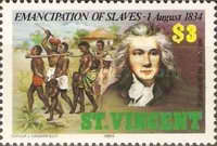 [The 150th Anniversary of Emancipation of Slaves, type SR]