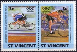 [Olympic Games - Los Angeles, USA, type SV]