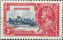 [The 25th Anniversary of the Reign of King George V, type W]