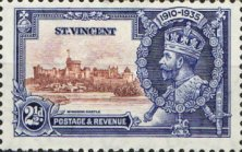[The 25th Anniversary of the Reign of King George V, type W2]