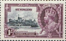 [The 25th Anniversary of the Reign of King George V, type W3]