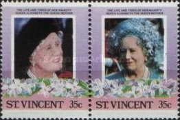 [The 85th Anniversary of the Birth of Queen Elizabeth the Queen Mother, 1900-2002, type WL]