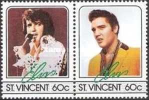 [The 50th Anniversary of the Birth of Elvis Presley, 1935-1977, type WX]