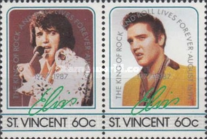[The 10th Anniversary of the Death of Elvis Presley, 1935-1977, type WX2]