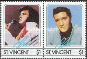 [The 50th Anniversary of the Birth of Elvis Presley, 1935-1977, type WZ]