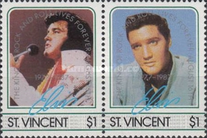 [The 10th Anniversary of the Death of Elvis Presley, 1935-1977, type WZ2]