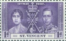 [Coronation of King George VI and Queen Elizabeth II, type X]