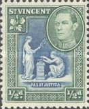 [King George VI, Local Motifs, type Y]