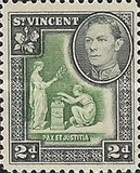 [King George VI, Local Motifs, type Y1]