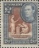 [King George VI, Local Motifs, type Y5]