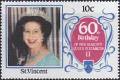 [The 60th Anniversary of the Birth of Queen Elizabeth II, type YS]