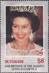 [The 60th Anniversary of the Birth of Queen Elizabeth II, type YV]