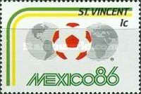 [Football World Cup - Mexico 1986, type YX]