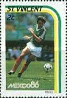 [Football World Cup - Mexico 1986, type YY]