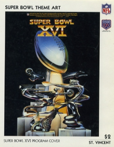 [The 25th Anniversary of Super Bowl - American Football Championship, type ZAP]