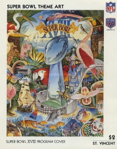 [The 25th Anniversary of Super Bowl - American Football Championship, type ZAR]