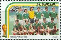 [Football World Cup - Mexico 1986, type ZE]
